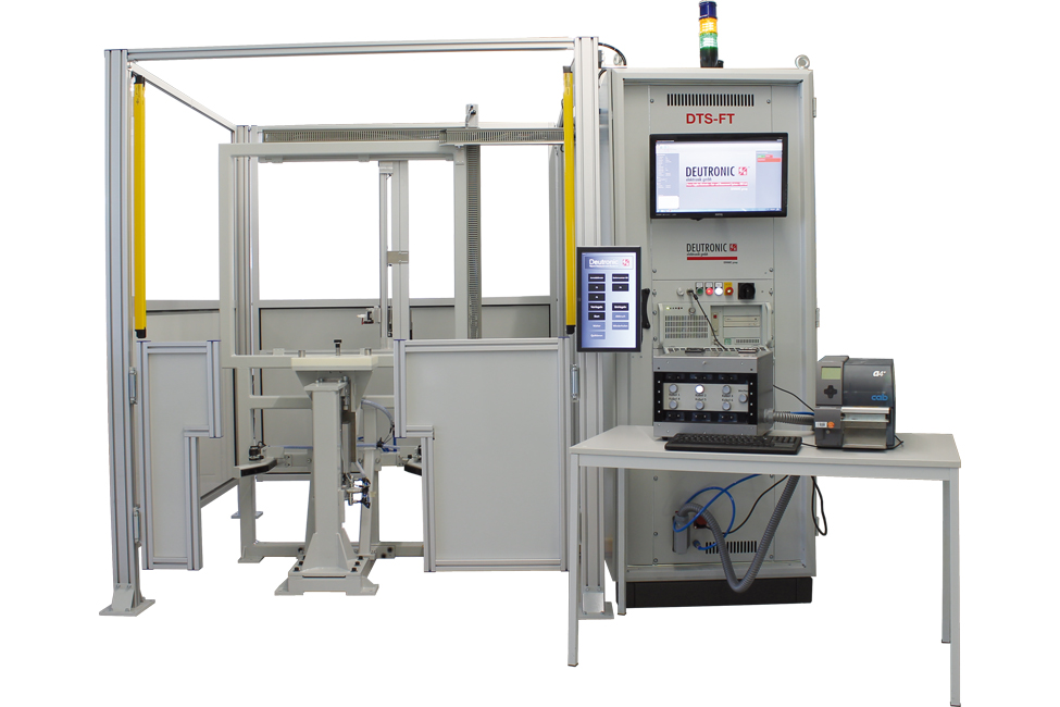 FT301 Bahnkupplungentester - Testing of railway couplers, cables and plugs