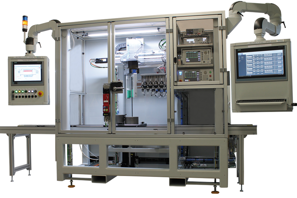 MT702 Rotortester - Fully automated test system for electric mobility (rotor test system)