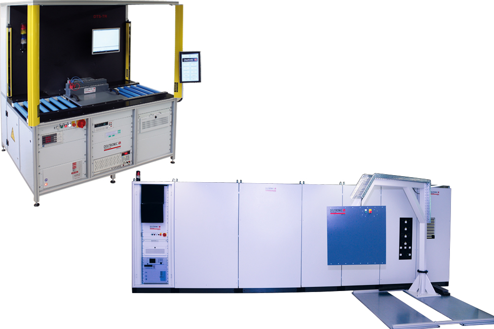 TR155 193 Transformatorentester - Test systems for winding goods, (high current) transformers, chokes, etc.