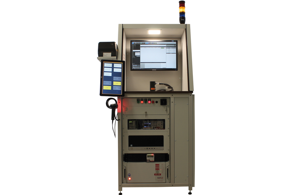 MT350 Motortester - Customer specific function test system for actuators
