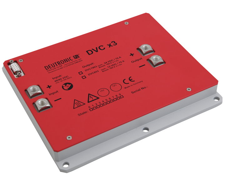 DVCx3 - Converters for vehicles
