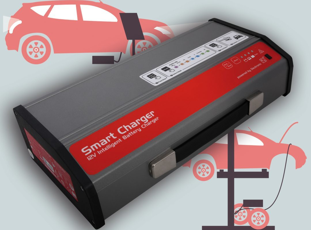 Publication by publish-industry about Deutronic battery chargers for workshop and showroom