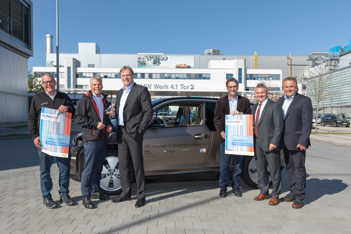 E-Mobility test weeks – A project in the course of Klimazeit – We were there!