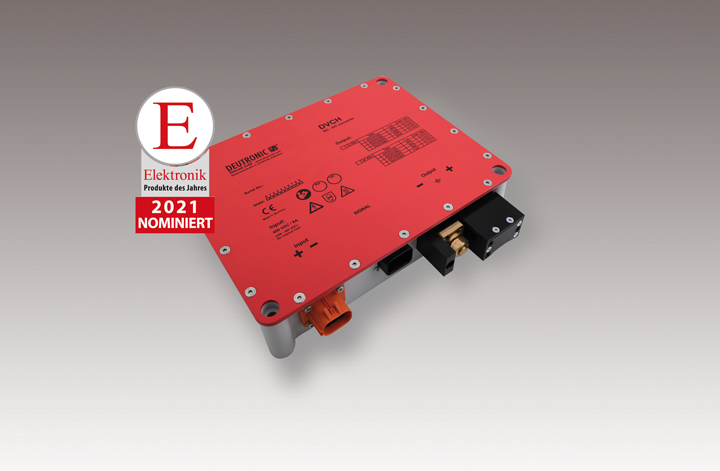 """""""Product of the year 2021"""" nomination in the trade journal """"Elektronik""""!"""