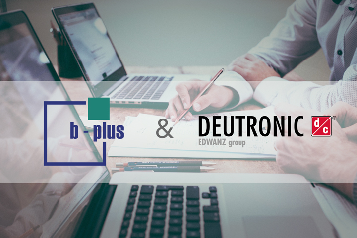 Deutronic cooperation with the b-plus group