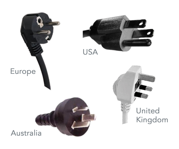 Mains cables