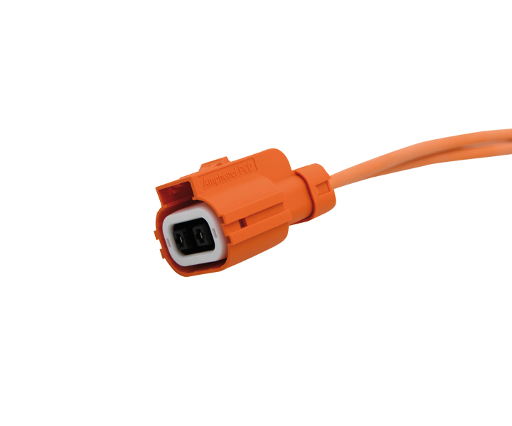 HV mating connector DVCHx3 pre-assembled